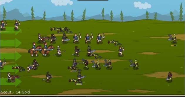 Empires of Arkeia – Defense Game Screenshot