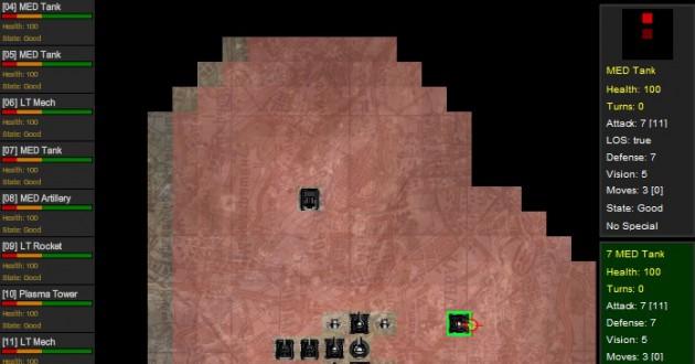 Armored Assault Screenshot
